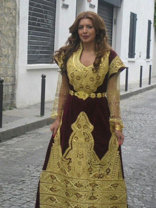 Traditionnelle Robe, Traditionnelle Algerienne, Tenu Traditionnel, Traditionnel Clothing, Tenues Traditionnels, Traditionnelles Algériennes, Fergani Dress,