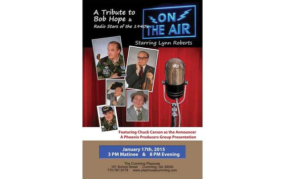 """Radio legends to perform at Cumming Playhouse """"On the Air"""" tribute scheduled for Jan. 17 By Crystal Ledford  http://www.forsythnews.com/section/20/article/26530/"""