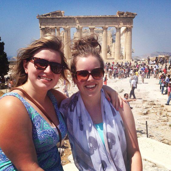 The Parthenon, Athens, Greece | Sara Russell