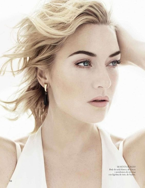 "VOGUE SPAIN: Kate Winslet in ""Una Mujer de Verdad"" by Photographer Miguel Reveriego"