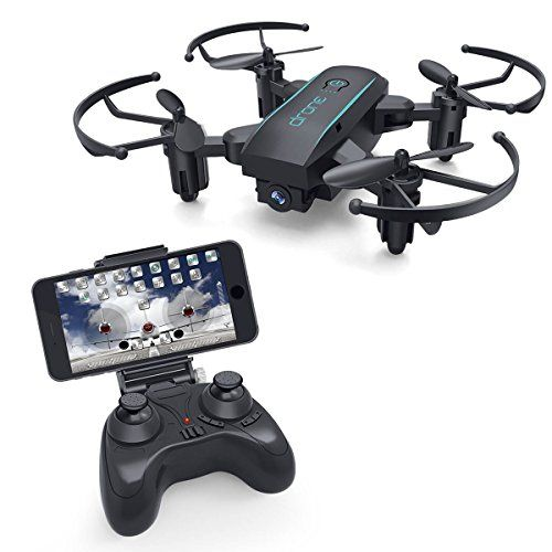 Foldable RC Quadcopter Drone for Beginners Live Video Follow Mode Gravity Control WiFi FPV Flying Drones with Camera for Adults Altitude Hold Headless Mode