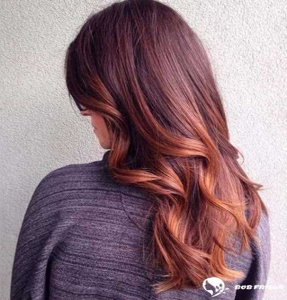 10 Copper Balayage Hair Ideas For Autumn 2019 2020 Copper Balayage
