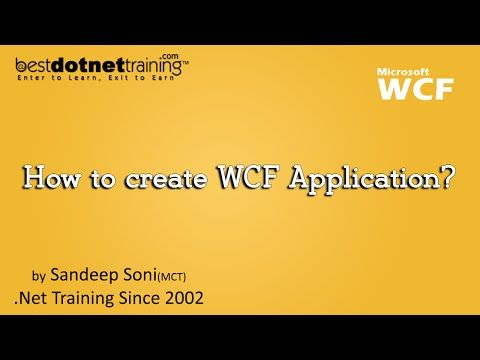 16 Wcf Tutorial How To Create Wcf Application Youtube