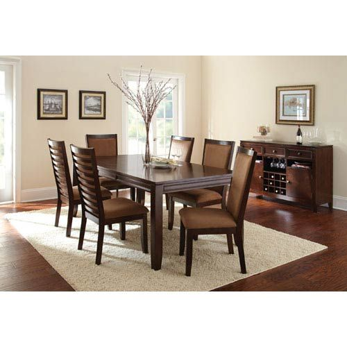 Steve Silver Company Cornell Side Chair In Espresso Cn500s Bellacor In 2020 Side Chairs Dining Dining Table Dining Room Sets
