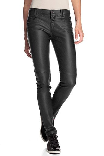 Esprit Online-Shop - ESPRIT - Pantalon simili-cuir Skin - 109.90 chf