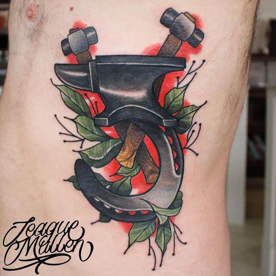 teaguemullen anvil tattoo teague mullen tattoo studio 13 fort wayne in pinterest. Black Bedroom Furniture Sets. Home Design Ideas