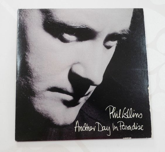 Phil Collins Another Day in Paradise 3 Track Three Inch Mini CD Card Sleeve
