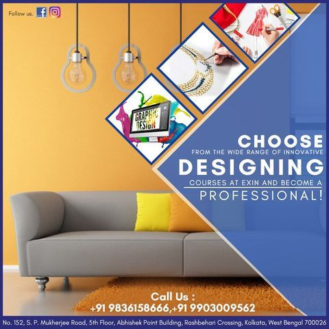 At Exin Find Quality Education Amazing Faculty And Affordable Fashion Designer Course Fees It Is One Of Fashion Designing Institute Fashion Designing Course