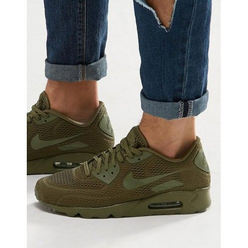 Nike Air Max Cool Nike Air Max 90 Ultra Breathe Olive Mens
