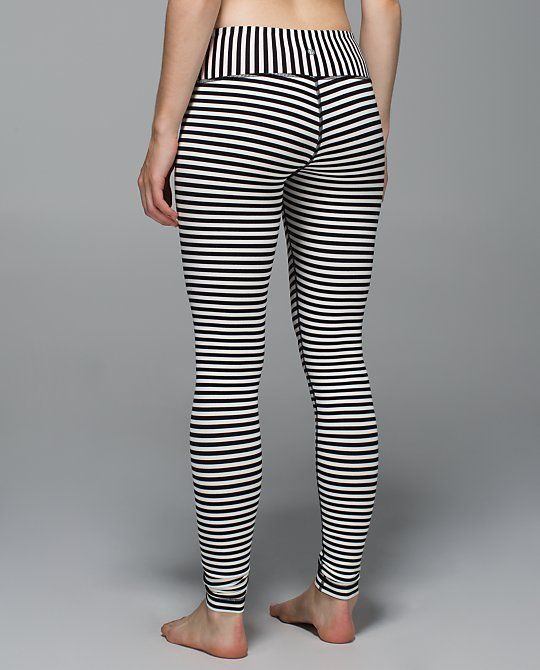 Striped Workout Leggings The Else