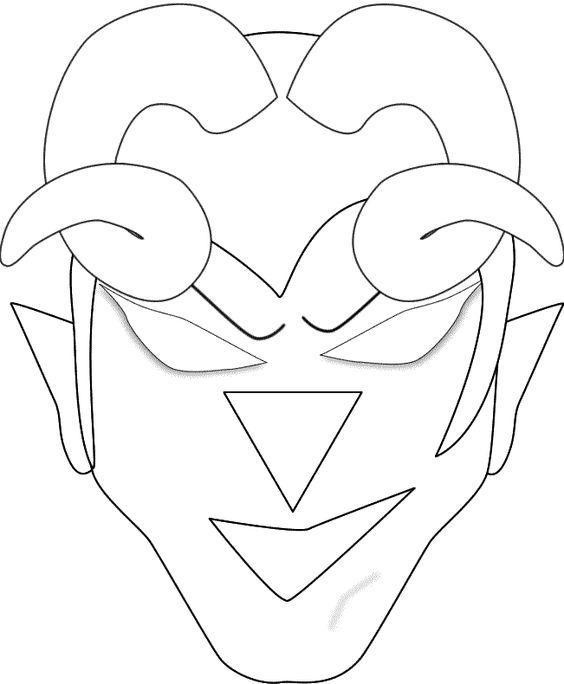 Krampusmaske