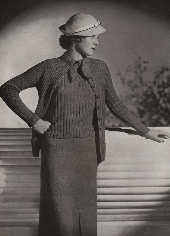 PDF of Minerva's Merion Lustre Wool Suit by VintagePatternPlace
