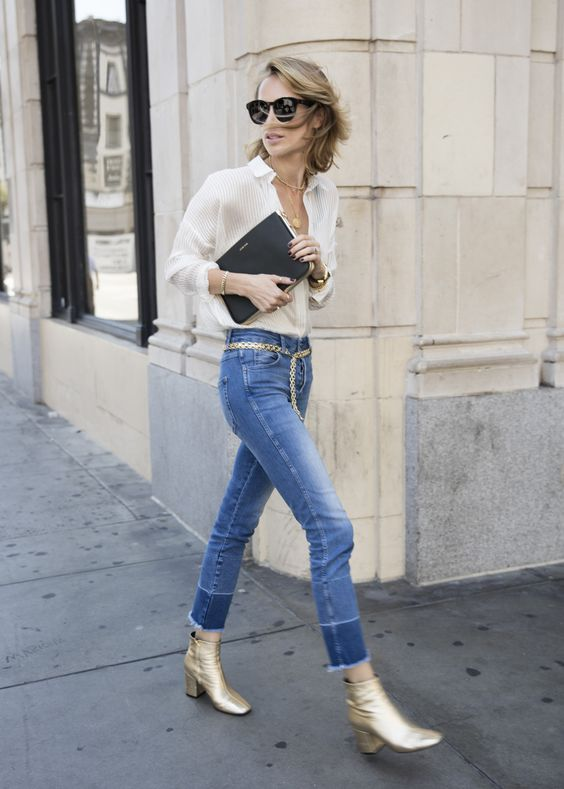 DENIM + GOLD                                                                                                                                                                                 More:
