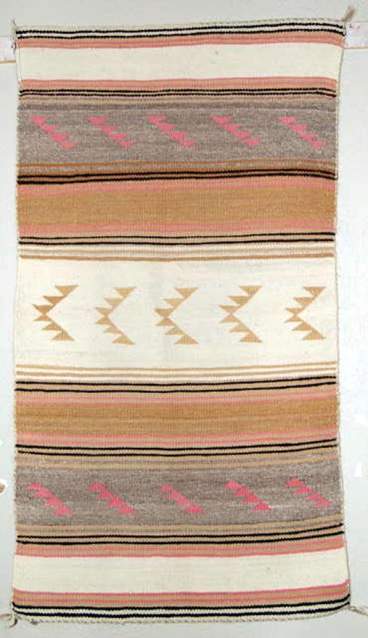 woven blanket/rug.. great western decor :)