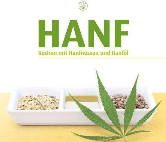HANF Kochen mit Hanfnüssen und Hanföl   HanfFarm