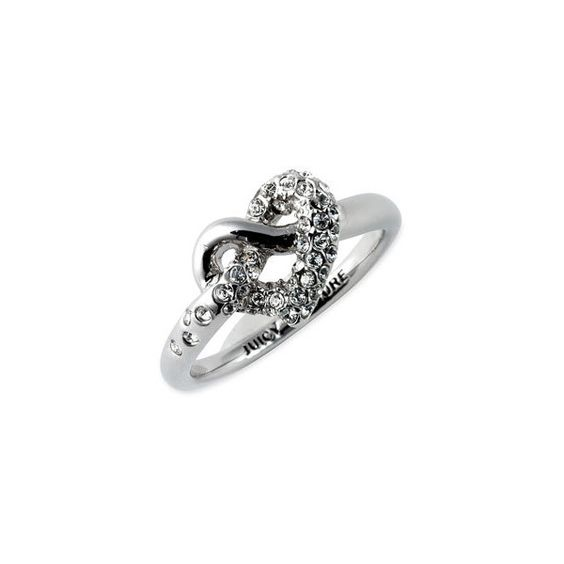 Juicy Couture 'Wish' Ring (€25) ❤ liked on Polyvore featuring jewelry, rings, accessories, anillos, juicy couture, women, bumble bee jewelry, bee jewelry, heart shaped rings and juicy couture ring