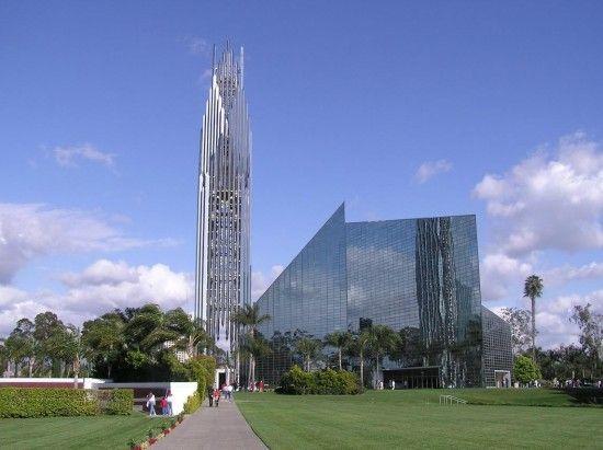 """Crystal Cathedral"" à Los Angelès"