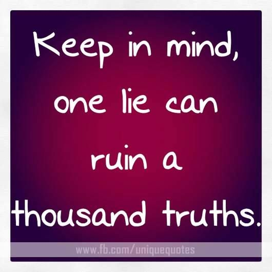Yes A Thousand Times Yes Quote: I Seem To Catch People In Lies Lately...