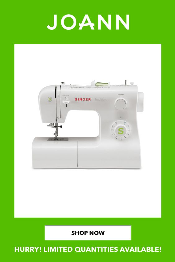 Joann Sewing Machines : joann, sewing, machines, Singer, Tradition, Essential, Sewing, Machine, JOANN, Machine,, Company