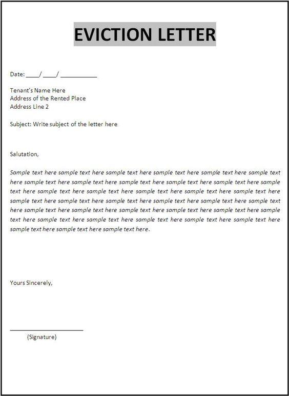 tenant agreement letter - Botbuzz - free letter templates
