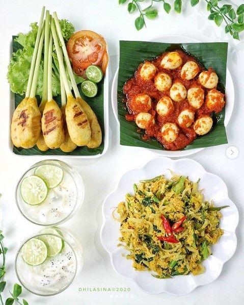 Menu Sehat 7 Di 2020 Resep Masakan Makan Siang Sehat Masakan