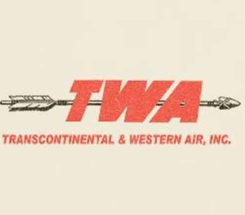 TWA 1950's - vintage airline logos