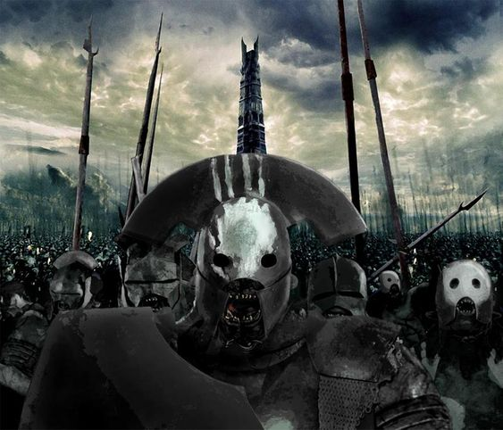 Black Orcs, Uruk Hai by Skinny22 on DeviantArt