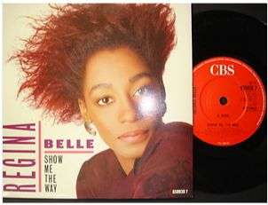 At £4.20  http://www.ebay.co.uk/itm/Regina-Belle-Show-Me-Way-CBS-Records-7-Single-650938-7-1987-/261098545645