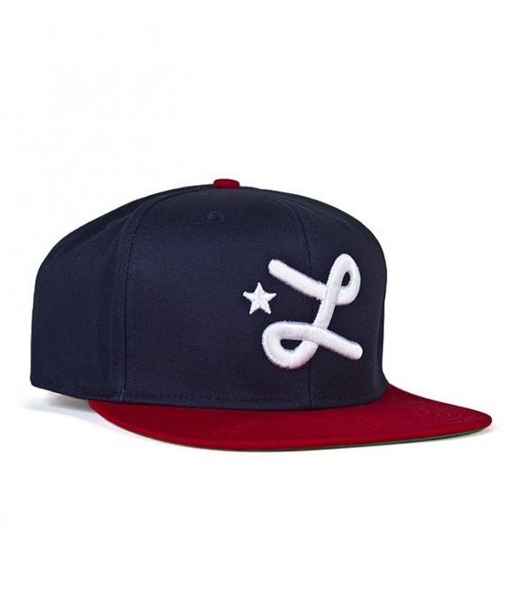 LRG snapback CC Seven Hat Navy