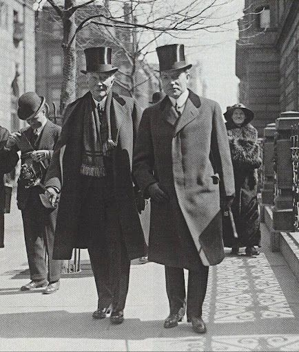 John D. Rockefeller (1839-1937) with his only son, John D. Rockefeller, Jr. circa 1920    Rockefeller, Sr. is frequently listed as the richest man in history (depending on which list you look at) in company with the likes of Andrew Carnegie, Tsar Nicholas II and William the Conqueror.