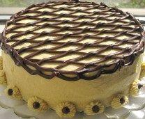 Caramel Irish Cream Cake