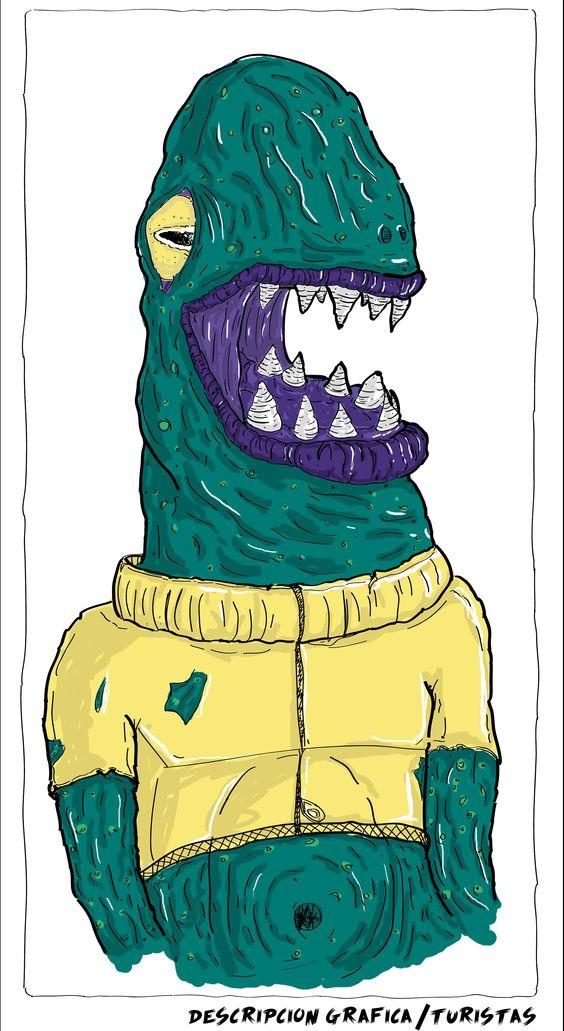 Monster                                                Laboratorio de diseño : Ilustración  Adobe Illustrator + Adobe Photoshop Pereira-Risaralda- Colombia                           DI.Santiago Luna http://astroblema.blogspot.com/2015/04/monster.html #barvitý, #bocetacion, #cool, #creative, #desing, #Foto #realismo, #héroes #fun #see, #illustration, #knowing.#boy, #monster, #sketch, #smile