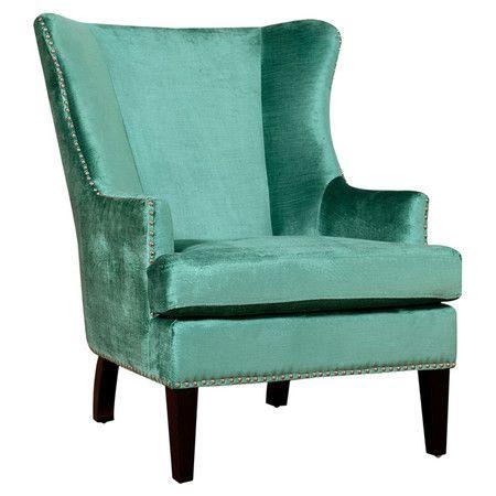 Winchester Velvet Arm Chair at Joss & Main