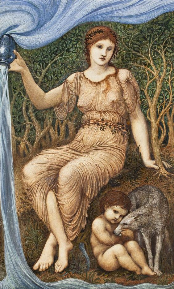 Burne Jones - Earth Mother