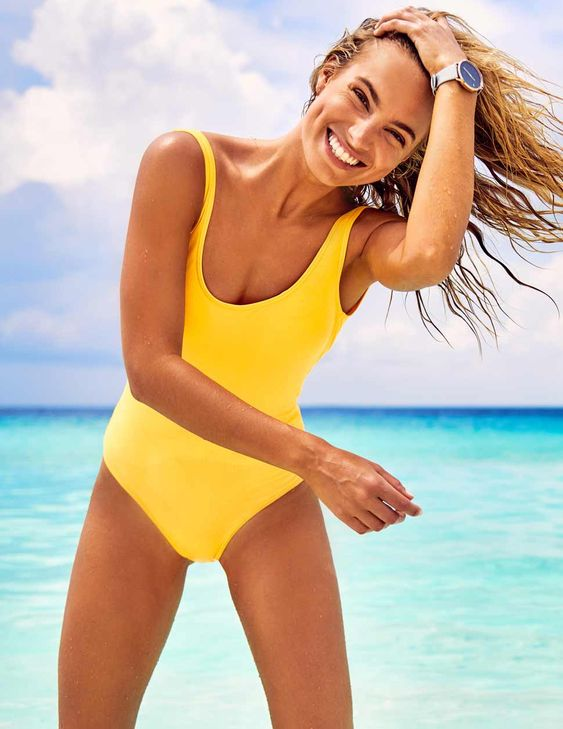 Classic Surf Tank One Piece Swimsuit - Cheeky Coverage