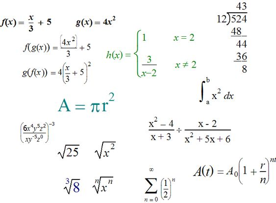 12 - Mathematical Equations