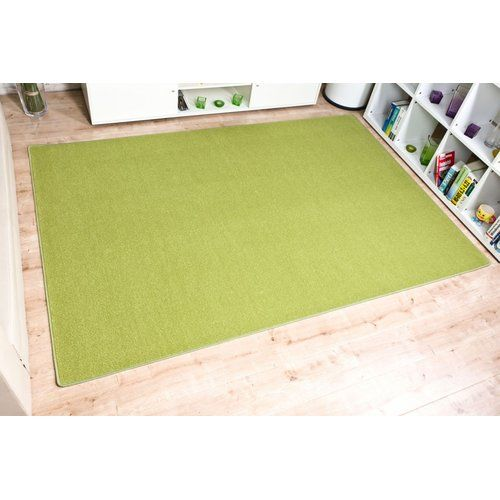 17 Stories Garden City Apple Green Rug Rugs Red Rugs Yellow Rug