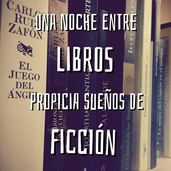 ¿Alguna vez habéis soñado con lo que habéis leído antes de dormir? #Buenasnoches lectorcillos! ^^