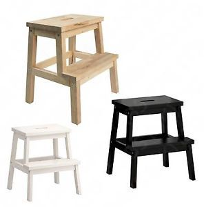 Ikea Step Ladder Ikea Bekvam Solid Beech Wood Kitchen Cupboard Step Stool  Wooden Step   Kitchen