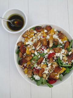 Kip-Mango Salade!