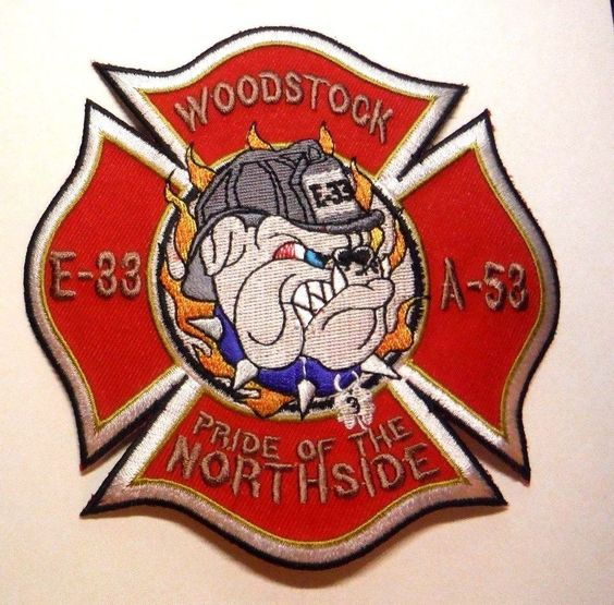 Woodstock Illinois Fire Rescue E 33 A 53 Pride Of The Northside