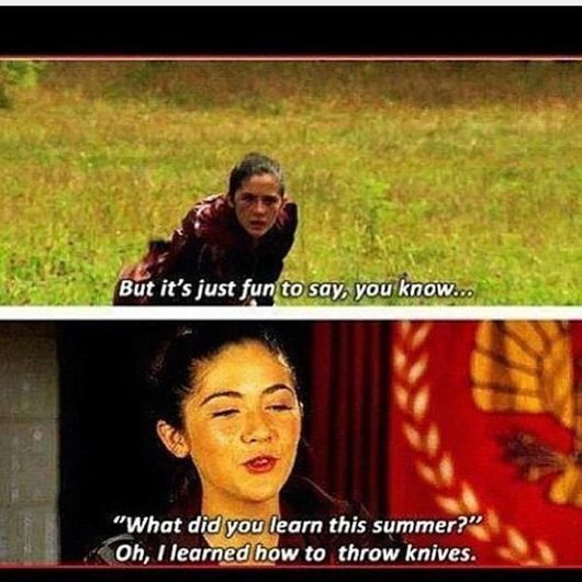 Ah Clove Hunger Games Hunger Games Quotes Hunger Games Memes