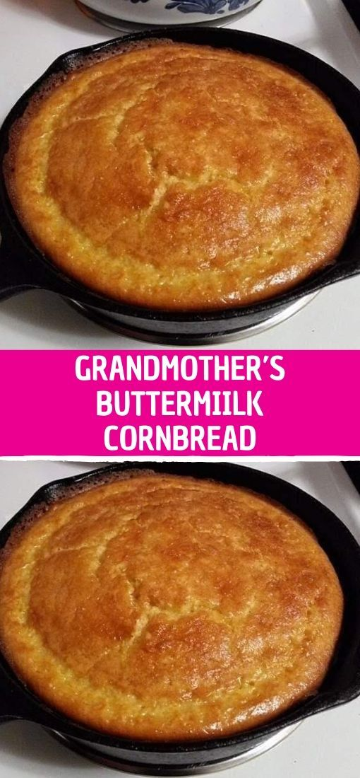 Ingredients 1 2 Cup Butter 2 3 Cup White Sugar 2 Eggs 1 Cup Buttermilk 1 2 Teaspoon Baking Soda 1 C Buttermilk Cornbread Cornbread Cornbread Ingredients