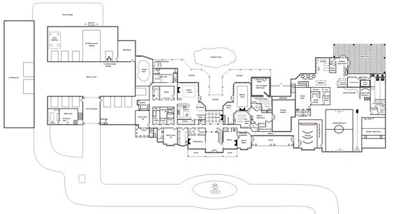 Ultimate Mega Mansion Floor Plans Votes Avg: mega mansion floor plans
