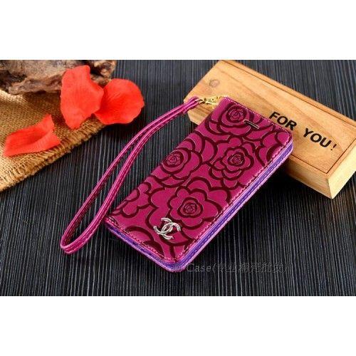 シャネルアイフォン7/7プラスケース花柄 iPhone6s/6splus手帳型ケース アイフォンSEカバー ストラップ付彼女プレゼント