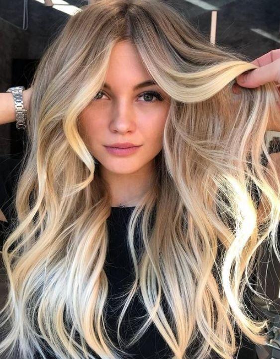Yazin Trend Sac Rengi Blonde Balyaj Modelleri 2019 2020 Pembe Seker Moda Blogu Balyaj Sac Renkleri Sac