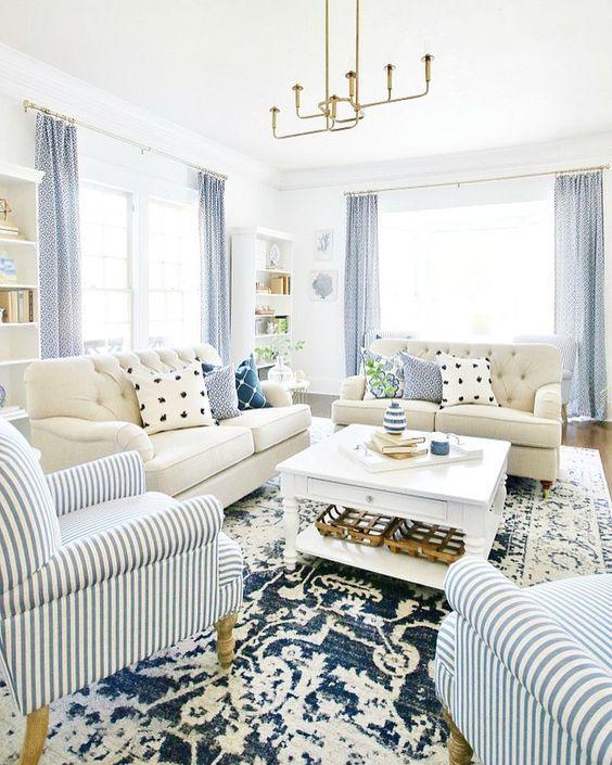 Blue Living Room Ideas Click Https Hpn Houzz Com Rqdab Livingroom Livingroomideas Livingroomdecor Living Room White Blue Living Room Trendy Living Rooms