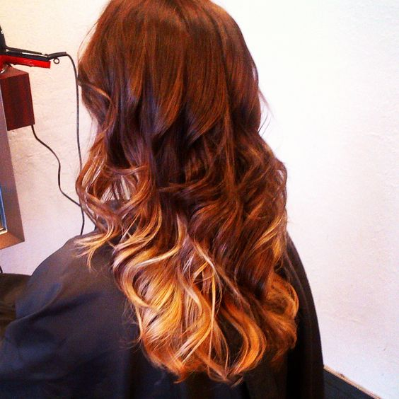 #ombre hair style