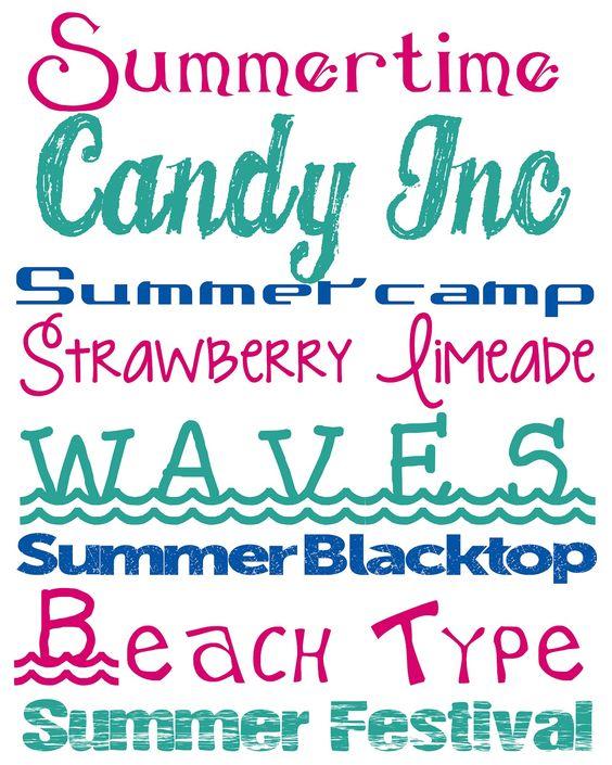Alderberry Hill: Free Summer Fonts