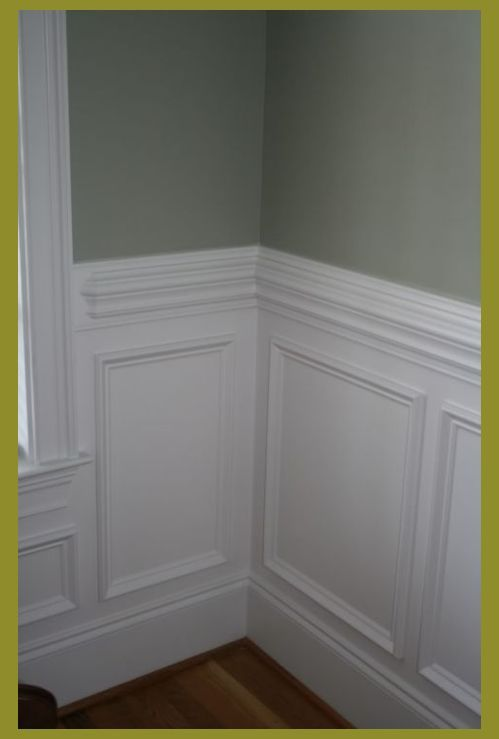 Wall Paneling Painting Ideas Half Wall Wood Paneling Painted Wood Wall Panels Wood Paneling Wall H In 2020 Dining Room Wainscoting Wall Trim Molding Wainscoting Styles